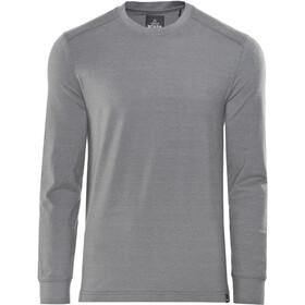 Prana Decco Crew T-shirt à manches longues Homme, charcoal